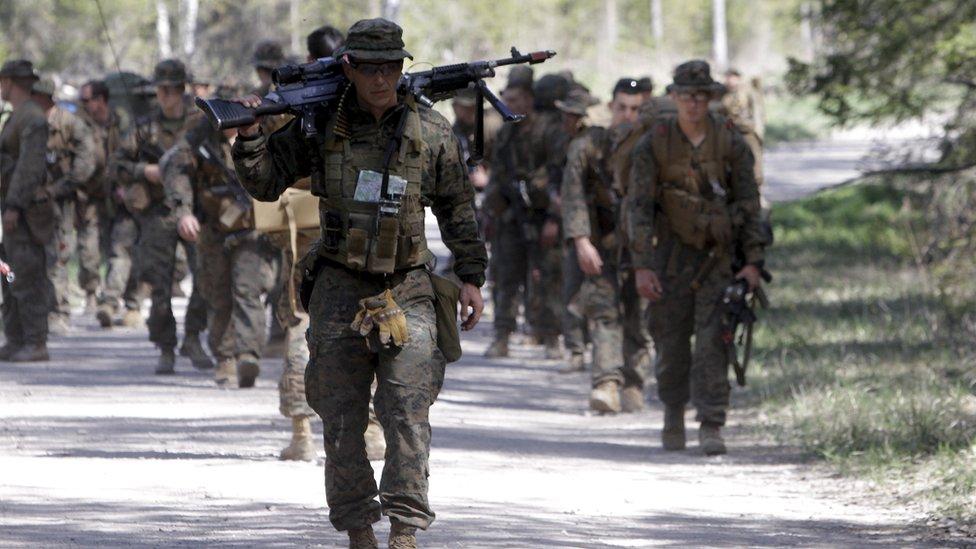 قوات أمريكية بالناتو