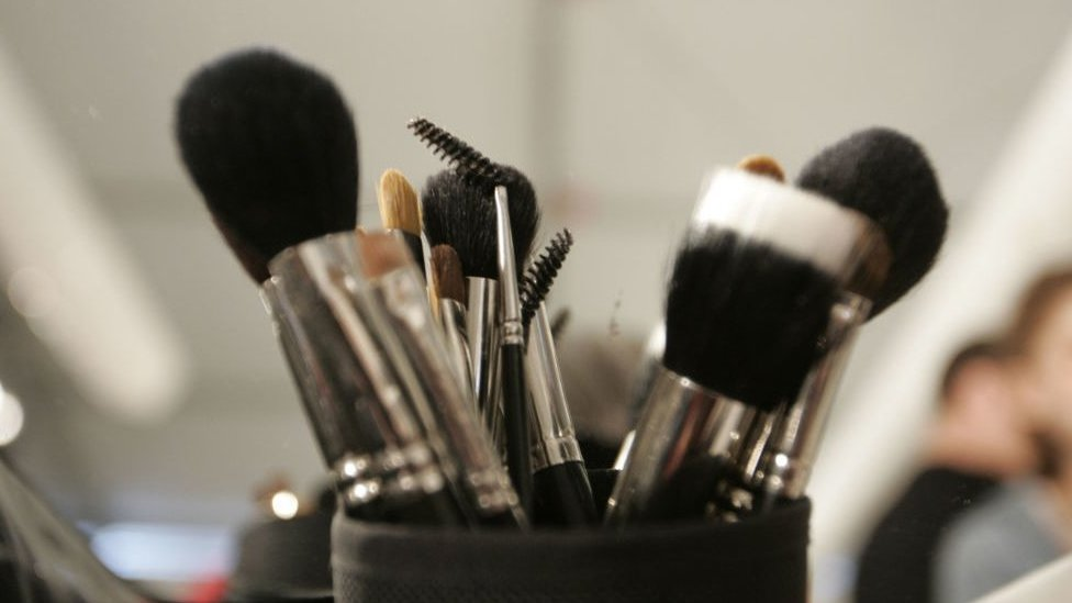A major Japanese cosmetics firm has faced calls for a boycott.