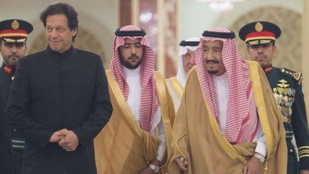 أرشيف: زيارة رئيس وزراء باكستان عمران خان إلى السعودية ولقائه بالملك سلمان بن عبد العزيز في سبتمبر/أيلول 2018