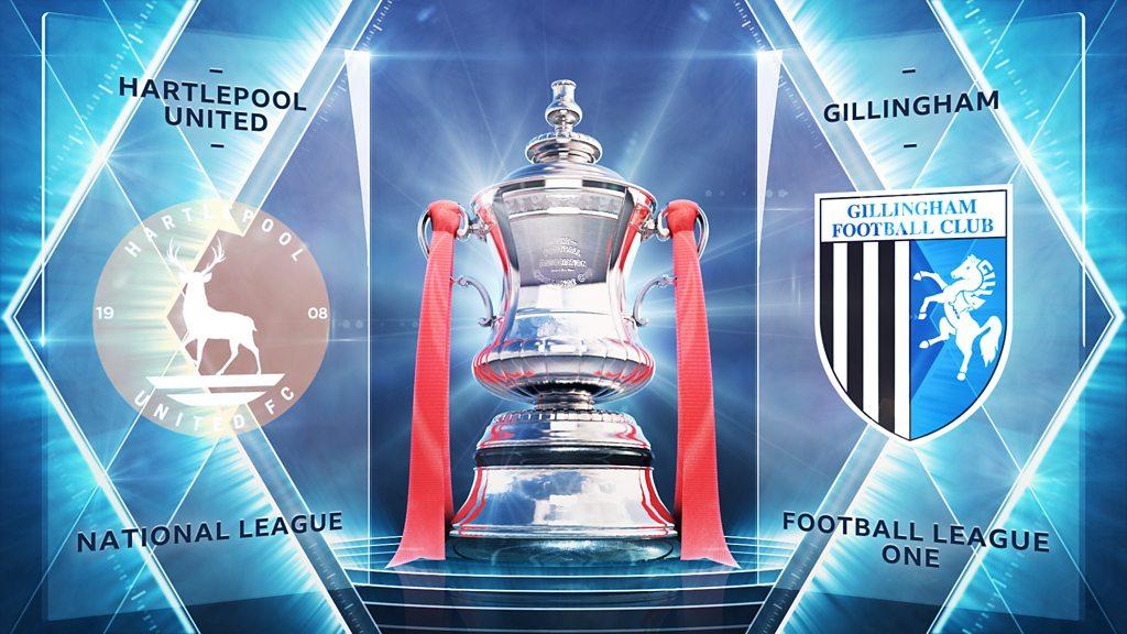 FA Cup: Hartlepool United 3-4 Gillingham highlights