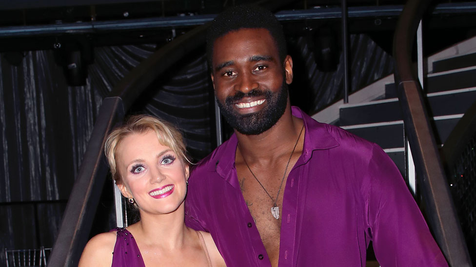 Dancing With The Stars Evanna Lynch Misses Out On Mirror Ball Trophy Bbc News