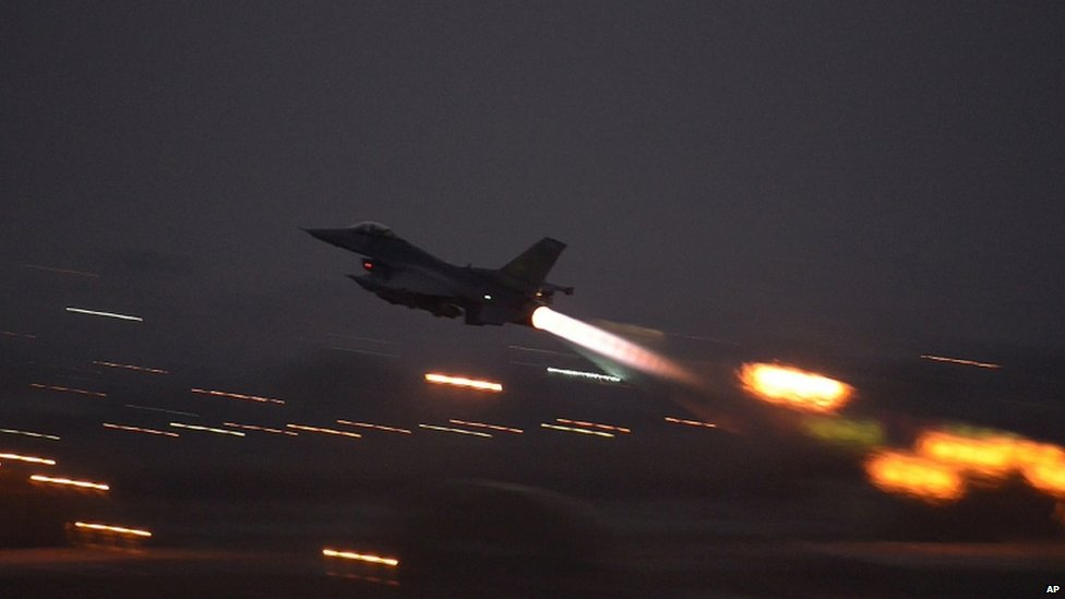 F-16 leaves Incirlik