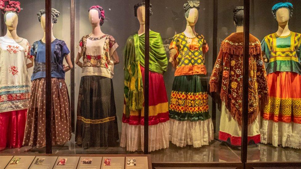 Vestidos de Frida Kahlo