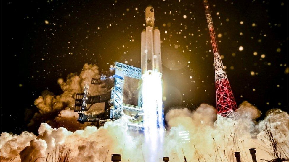 俄羅斯火箭發射2020