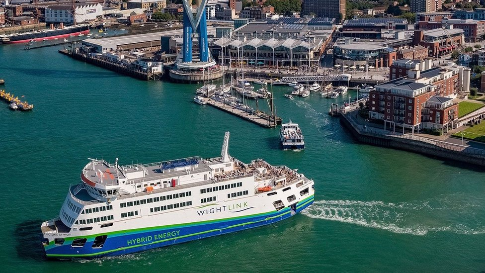 Wightlink's new £30m ferry Victoria of Wight officially named