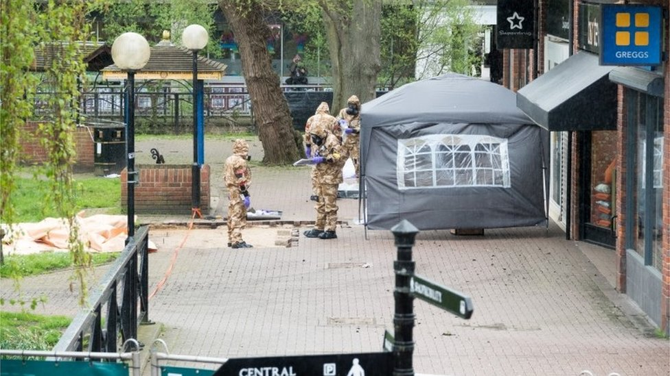 Salisbury shopping precinct to reopen after spy poisoning