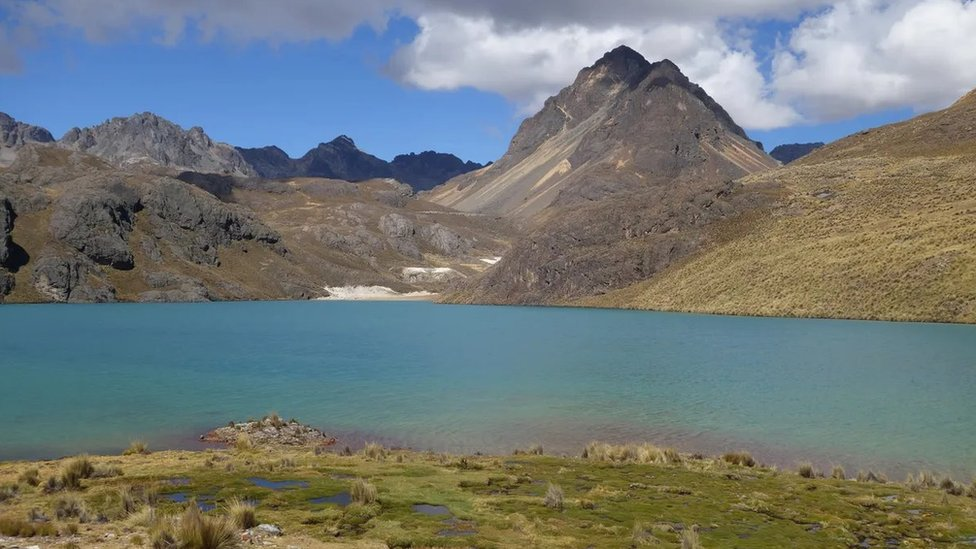 Las tierras altas de Perú