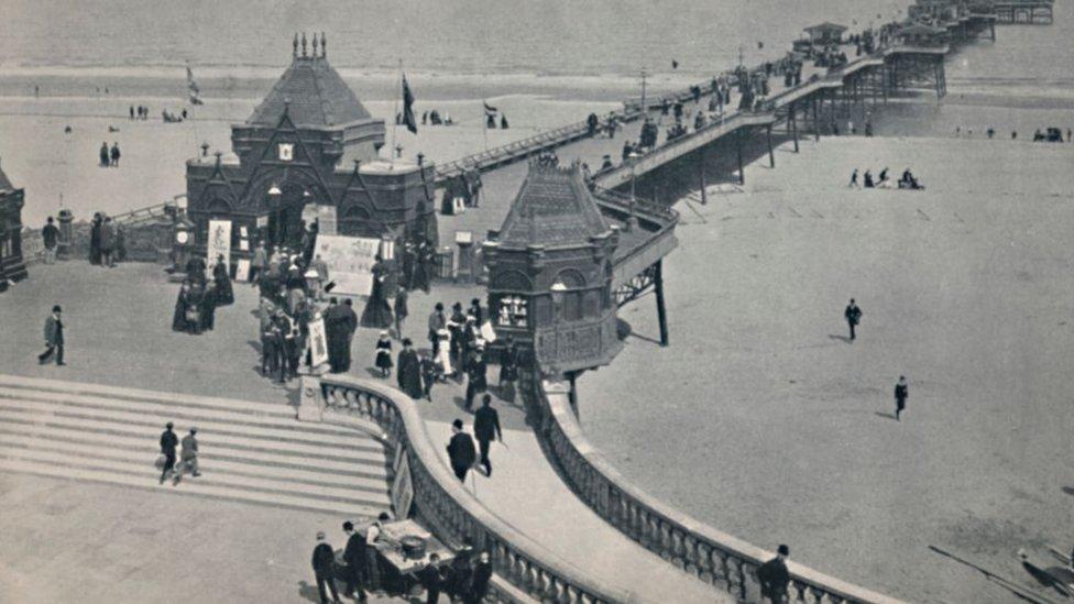Skegness Pier in 1895