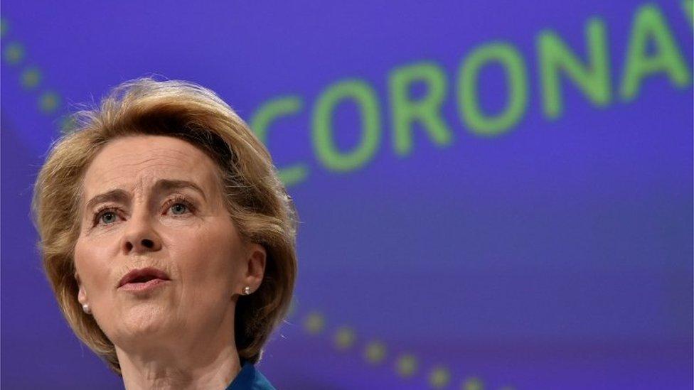 歐盟委員會主席馮德萊恩(Ursula von der Leyen)