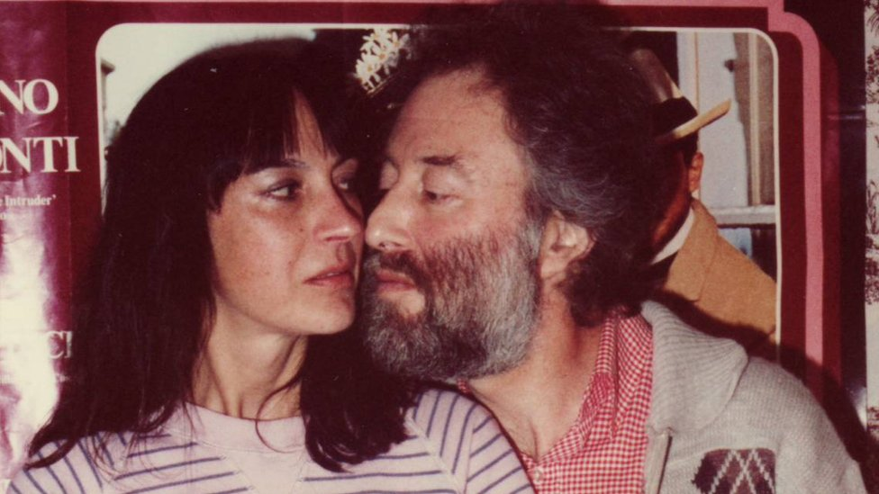Basil Kirchin and his wife Esther