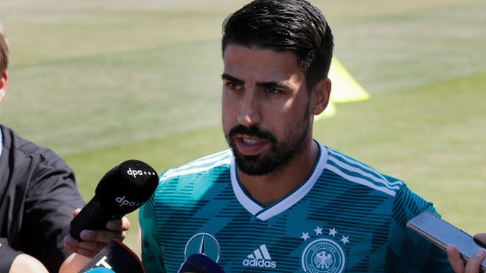Germany's Khedira pranked with fake ticket home
