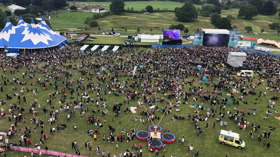 BBC News - Coventry's Godiva Festival cancels acts over safety fears