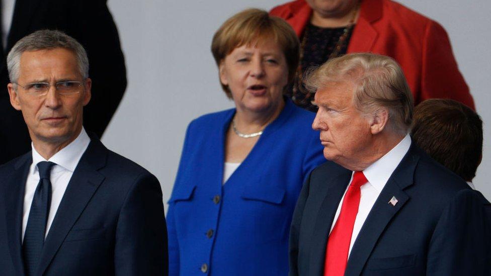Trump cuestionó a Merkel por el proyecto del gasoducto.