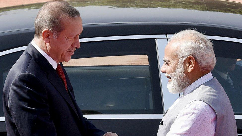 مودی اور اردوغان