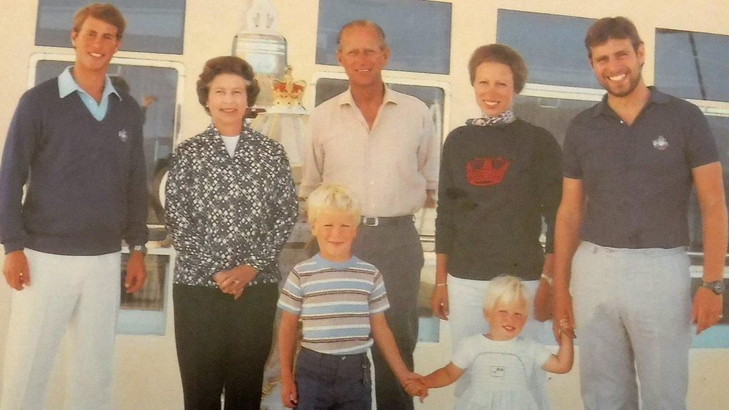 Royal Family Christmas cards