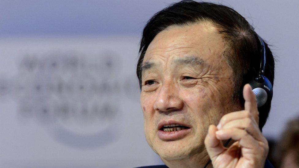 """El fundador de Huawei, Ren Zhengfei, dice que el gobierno de EE.UU. """"subest ..."""