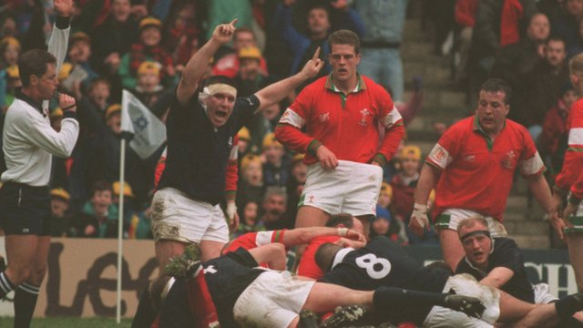 Six Nations Memories - Peter Wright