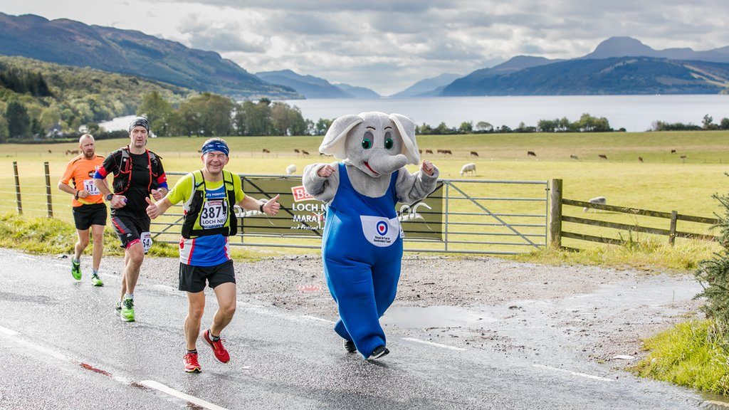 In pictures: Loch Ness Marathon and Festival of Running
