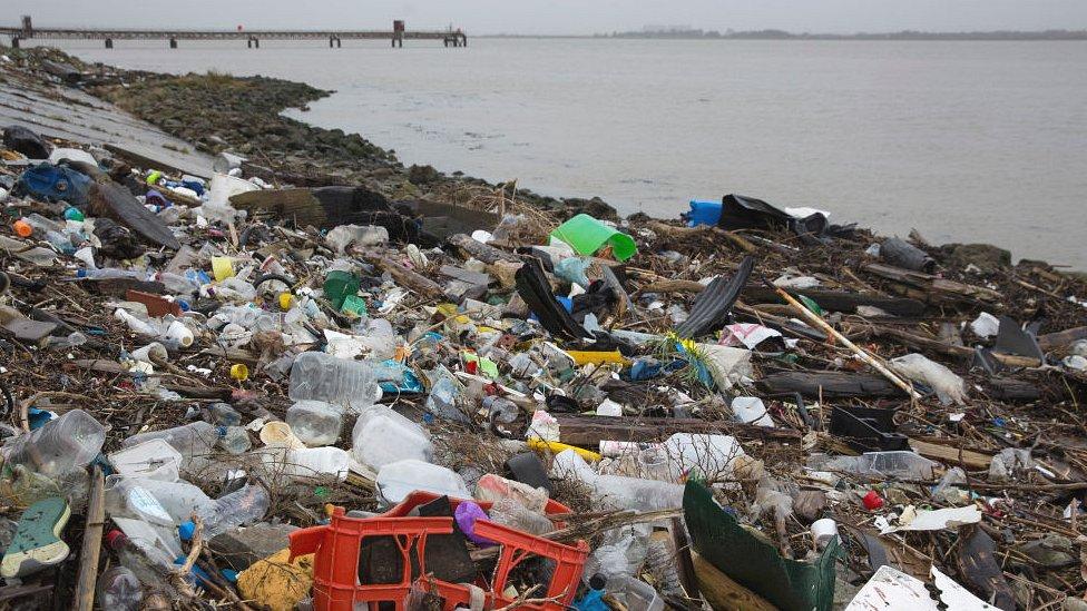 Plastic, Thames Estuary