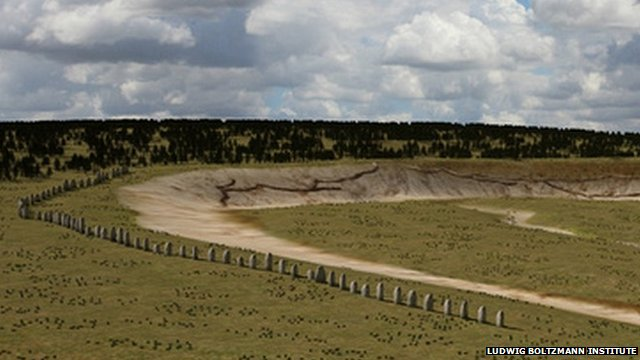 New monument discovered near Stonehenge (c) Ludwig Boltzmann Institute