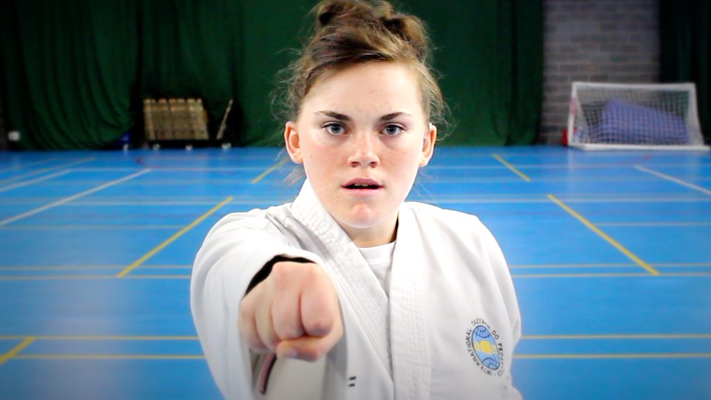 Taekwondo black belt Angel Stevens 'feels strong' despite disability