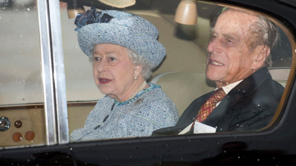 The Queen and Prince Philip the Duke of Edinburgh arrive at the airport in Valleta, Malta 26 November 2015.