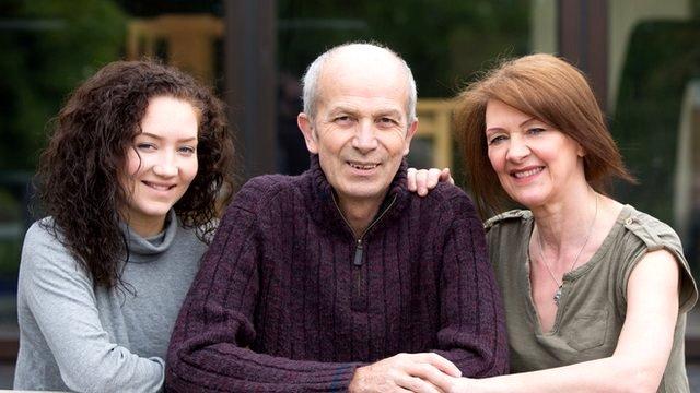 Kate, Chris and Jayne Roberts