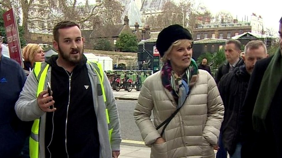 Soubry protester James Goddard charged with harassment