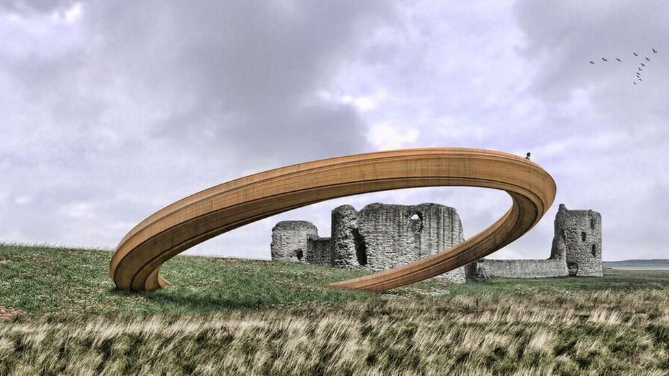 An artist impression of the Iron Ring Design