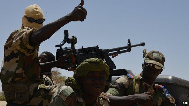 Nigerien soldiers