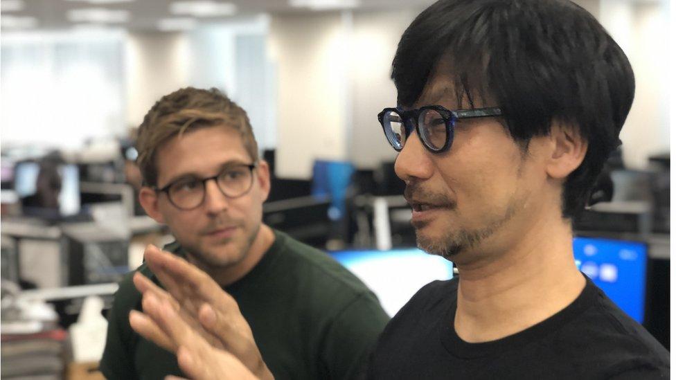 Kojima habló con Steffan Powell, reportero de Newsbeat.