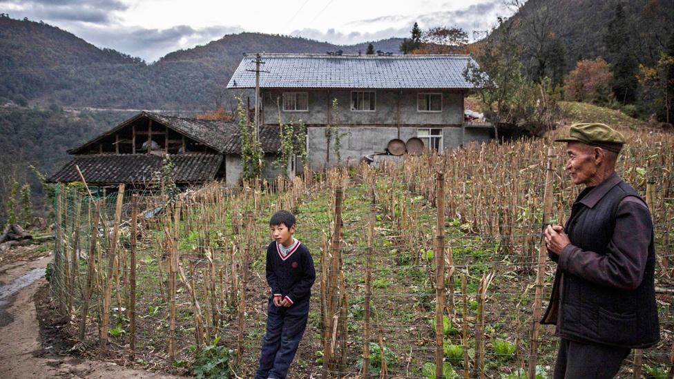 Agricultures en las regiones montañosas de China