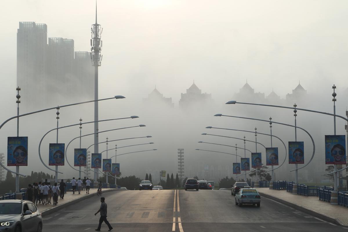 Fog in Dalian