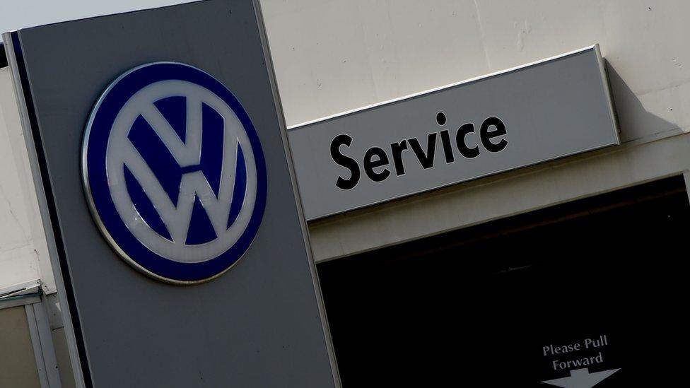 VW dealer