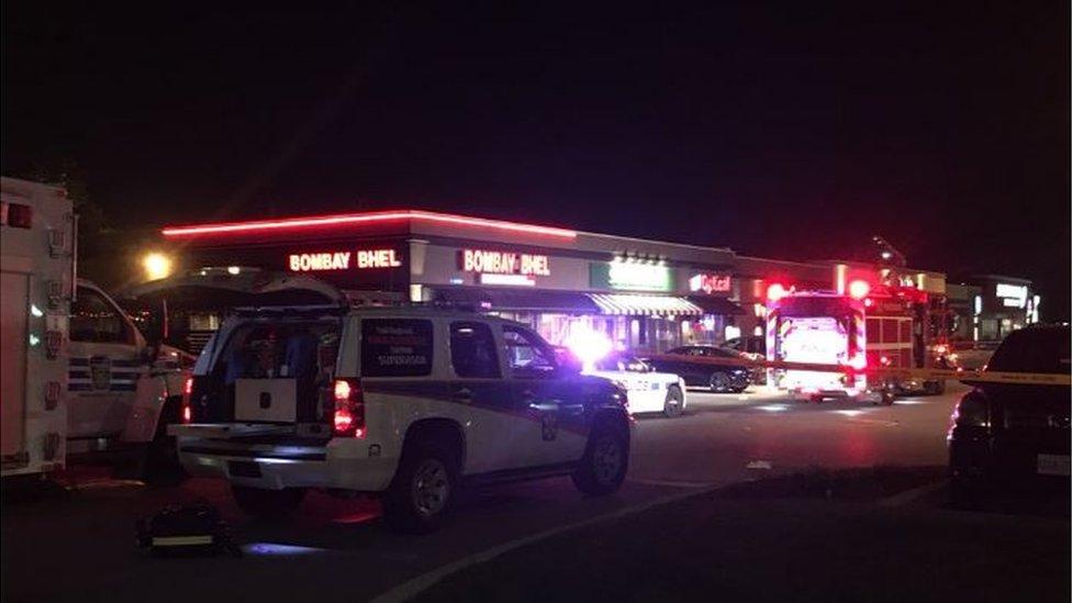 Mississauga explosion: Suspects 'detonate IED' in restaurant