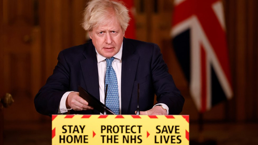 UK lockdown will be slowly unwrapped, says British PM Boris Johnson