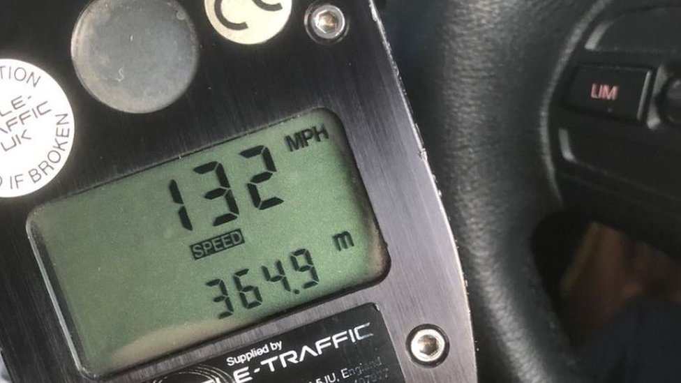 'Drink-driver' clocked at 132mph near Bedford
