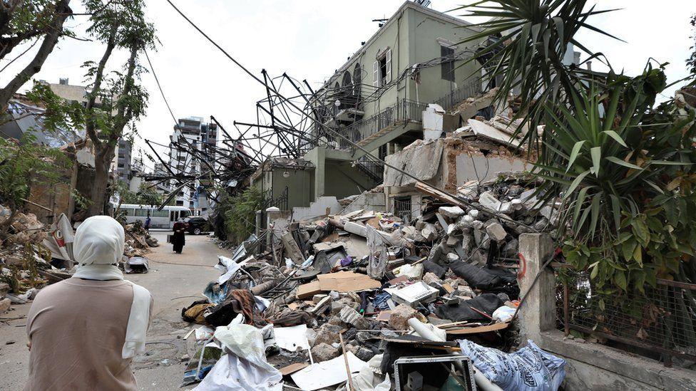 Kerusakan akibat ledakan Beirut, Lebanon