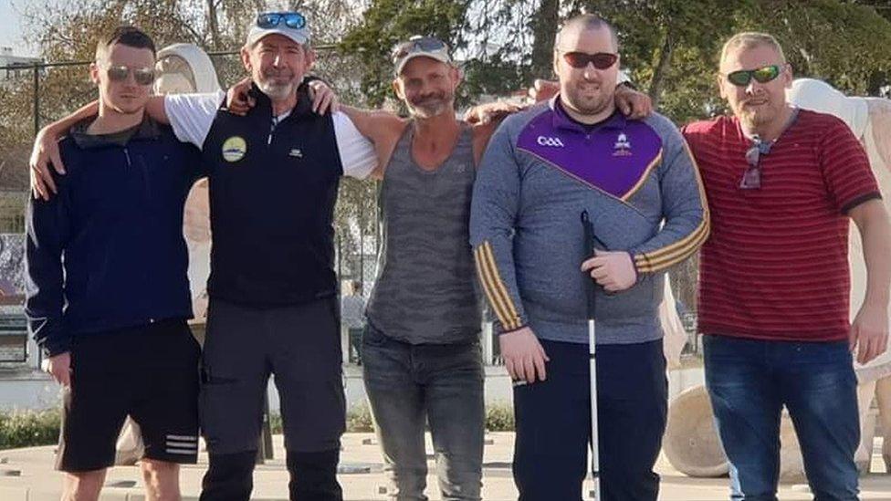 S leva na desno - Dara, Predrag, Ralf, Šejn i Livar