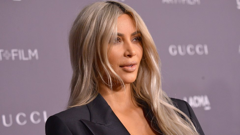Kim Kardashian West pictured in Los Angeles, California on 4 November