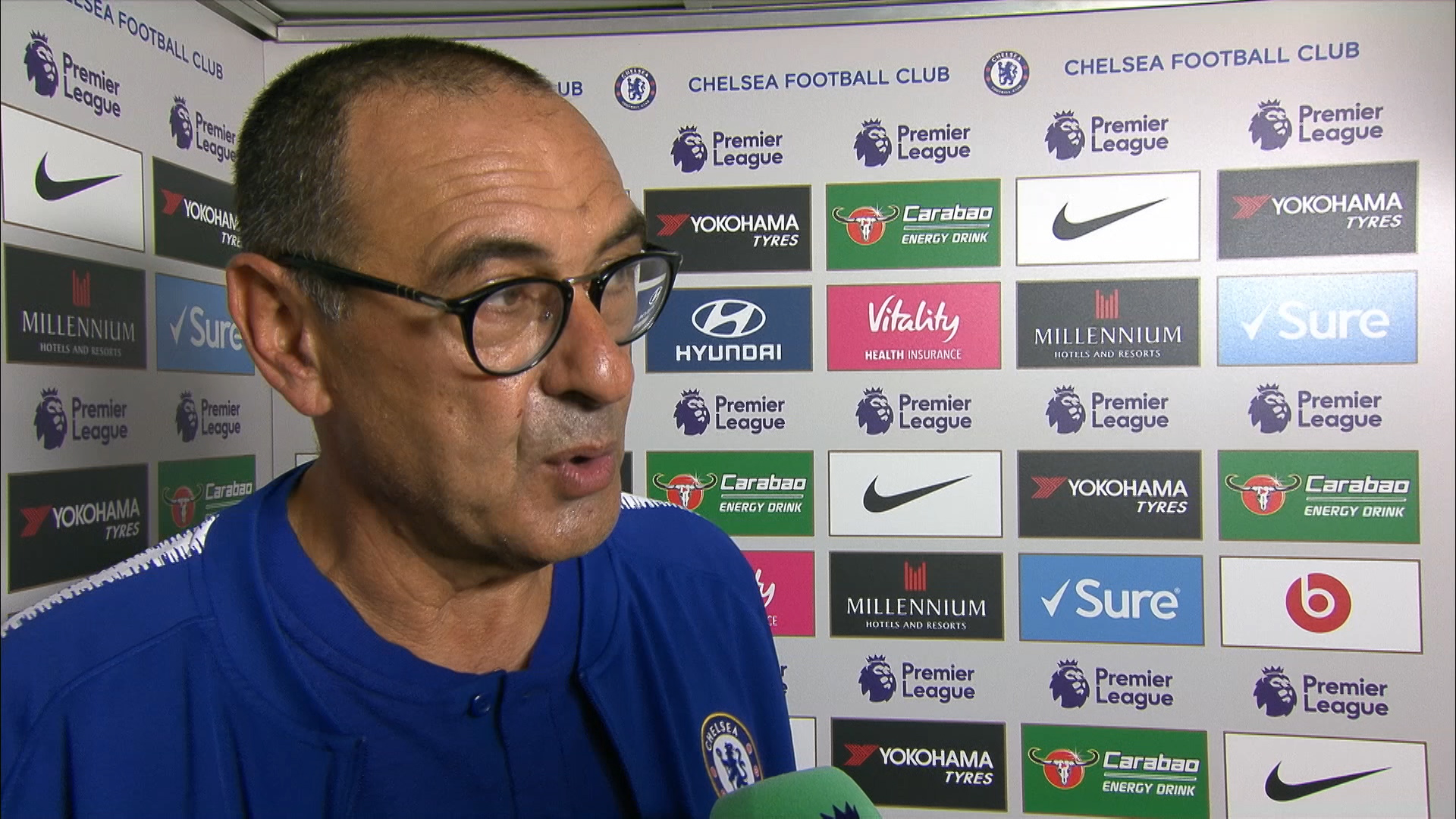 Chelsea 3-2 Arsenal: Maurizio Sarri hails 'very important' win for Blues