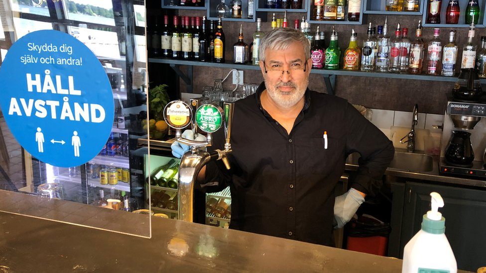 Restaurant manager Shiar Ali