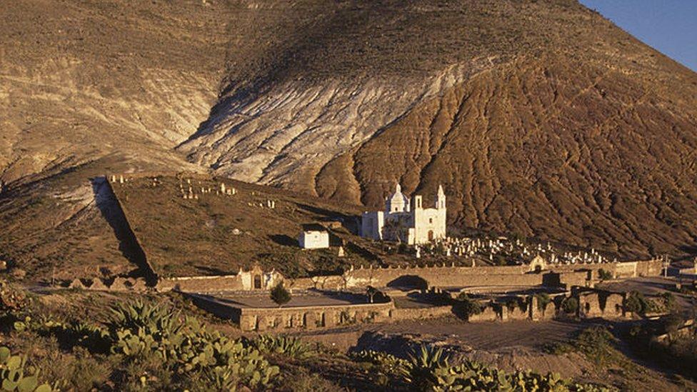Vista del valle de San Luis