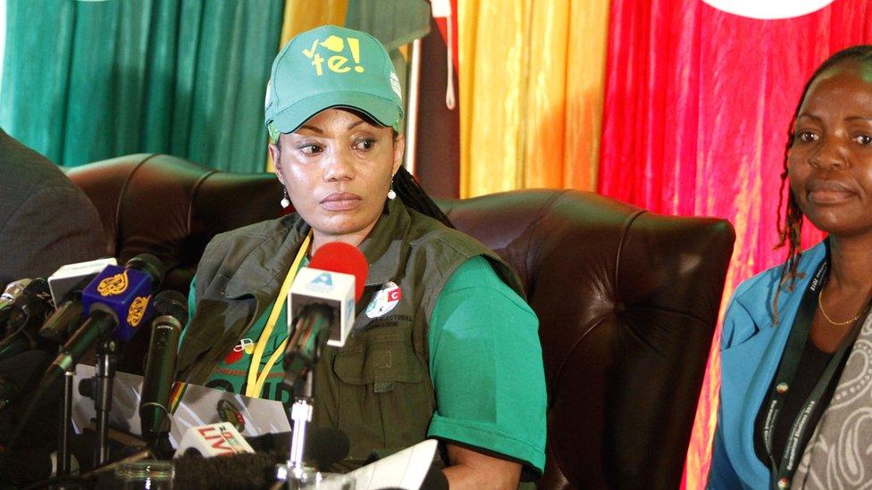 Zimbabwe Electoral Commission (ZEC) chairperson Justice Priscilla Chigumba