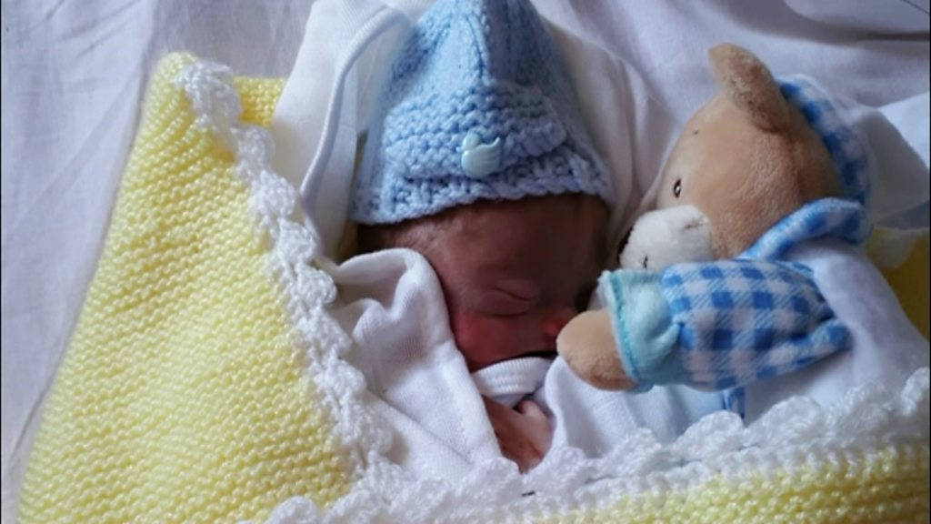 Bereaved mum of premature baby supports other parents