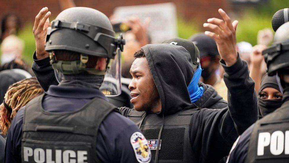 Protesta en Louiville