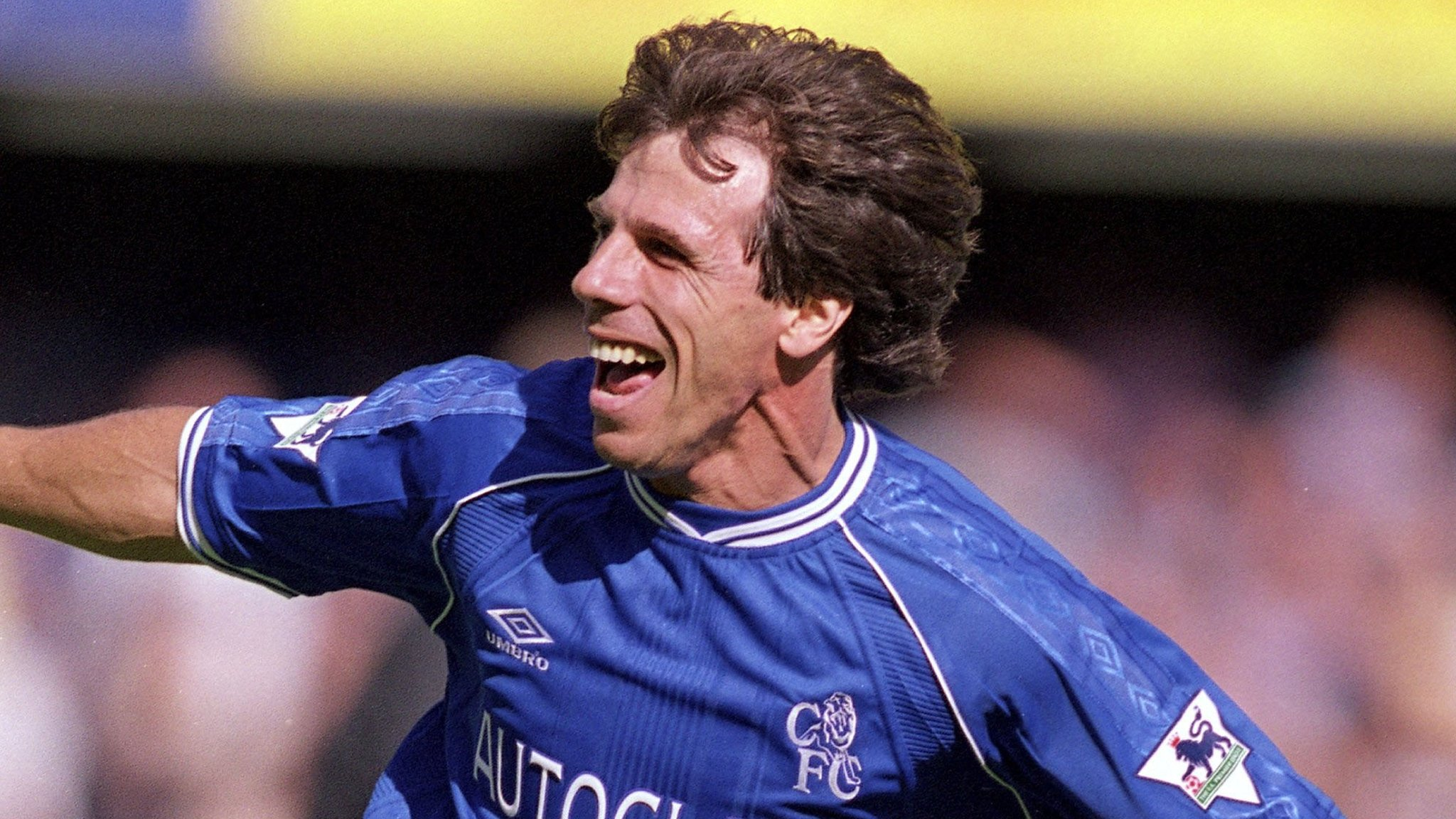 Ex-Chelsea striker Zola returns to Stamford Bridge as assistant manager