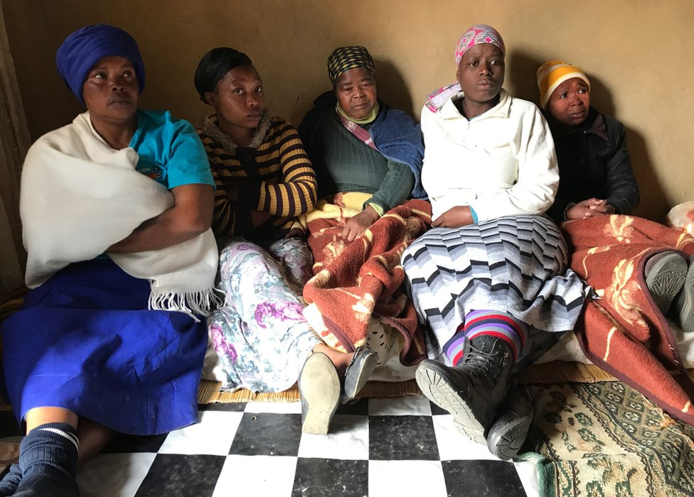 Relatives of Zanele Hlatshwayo