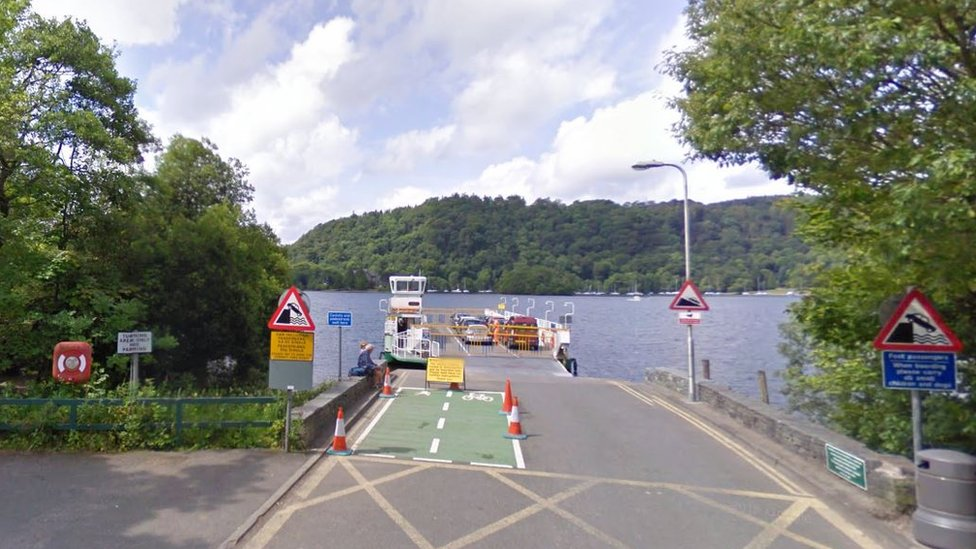 More than 80 evacuated from ferry on Windermere after fire