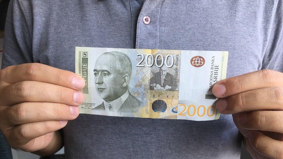 Novčanica od 2.000 dinara